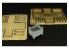 Hauler accessoire diorama HLF48360 Container metallique 1/48