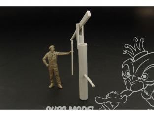Hauler accessoire diorama HLF48014 Pompe à eau de style rustique en resine 1/48