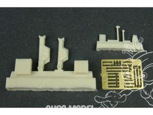 Hauler accessoire diorama HLF48024 Crics pour char Allemand 2 piéces 1/48