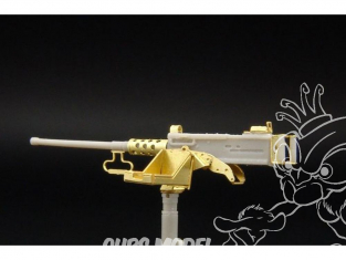 Hauler arme HLX48195 Browning M2 .50 Caliber Machine Gun 1/48