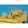 Hauler kit d'amélioration HLX48010 Kubelwagen pour kit Tamiya 1/48