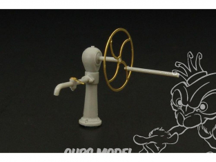 Hauler accessoire diorama HLF48016 Pompe à eau a roue 1/48