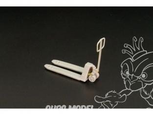 Hauler accessoire diorama HLX48371 Transpalettes 1/48