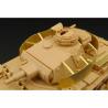 Hauler kit d'amélioration HLX48200 Pz.III. SCHURZEN de tourelle pour kit tamiya 1/48