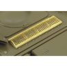 Hauler kit d'amelioration HLX48136 KV-2 Grilles pour kit Tamiya 1/48