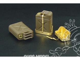Hauler kit d'amelioration HLX48063 U.S.jerry cans pour kit Tamiya 1/48