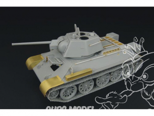 Hauler kit d'amélioration HLX48155 T-34/76 1943 Factory No.112 pour kit Hobby Boss 1/48
