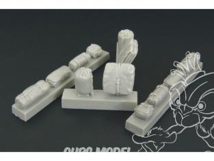 Hauler accessoire Figurine HLX48150 Sacs a dos et sacs U.S. 1/48