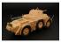 Hauler kit d'amelioration HLX48313 AB-43 Autoblinda pour kit Italeri 1/48