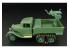 Hauler kit d'amelioration HLX48291 GAZ-AAA avec Quadruple MAXIM AA gun pour kit UM 1/48