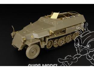Hauler kit d'amelioration HLX48278 Sd.Kfz.251/1 ausf.C exterieur pour kit AFV Club 1/48