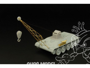Hauler set de conversion HLH72043 Grue sur T-34 pour tous kit 1/48