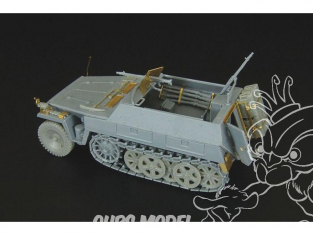 Hauler kit d'amelioration HLH72044 Sd.Kfz 250/1 AusfB pour kit MK72 1/48