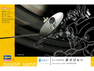 HASEGAWA maquette espace 54002 sondes spatiales Voyager 1/48