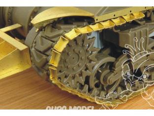 Hauler accessoire vehicule HLH72060 Duckbills pour chenilles de Sherman pour tous kit 1/72