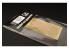 Hauler accessoire vehicule HLH72068 Plaque gravée Moderne Type A pour tous kit 1/72