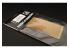 Hauler accessoire vehicule HLH72066 Plaque gravée Type U.S. pour tous kit 1/72