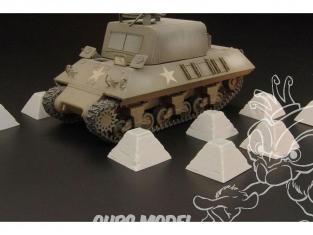 Hauler accessoire diorama HLH72052 Pièges a char dents de dragons 1/72