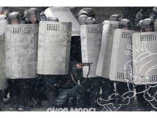 Hauler accessoire Figurine HLU35088 Bouclier de policier Ukrainien 1/35