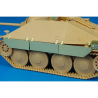 Hauler Kit d'amelioration HLU35035 Hetzer schuerzen pour Kit Tamiya 1/35