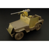Hauler Kit d'amelioration HLU35024 JEEP blindée (82nd Airborne Div.) pour Kit Tamiya 1/35