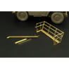 Hauler Kit d'amelioration HLU35037  Jeep panier et coupe-fil pour Kit tamiya 1/35