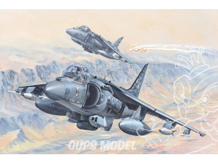 Hobby Boss maquette avion 81804 AV-8B Fighter II 1/18