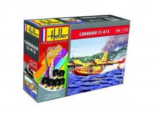 Heller maquette avion 56370 Canadair CL-415 Inclus peintures principale colle et pinceau 1/72