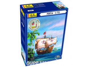 Heller maquette bateau 56816 Pinta Inclus peintures principale colle et pinceau 1/72