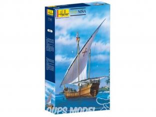Heller maquette bateau 56815 Nina Inclus peintures principale colle et pinceau 1/72