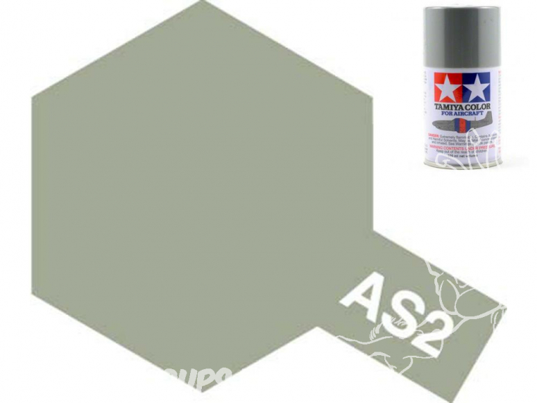 peinture maquette tamiya bombe as02 gris clair
