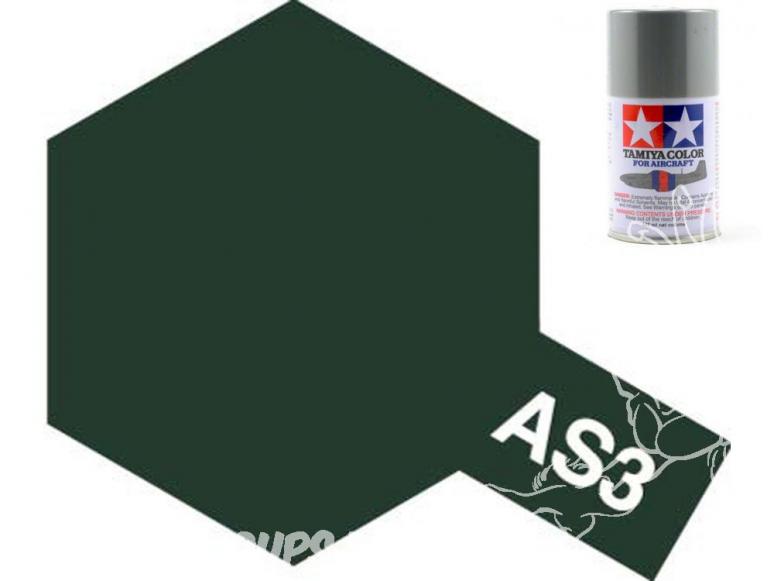 peinture maquette tamiya bombe as03 gris vert