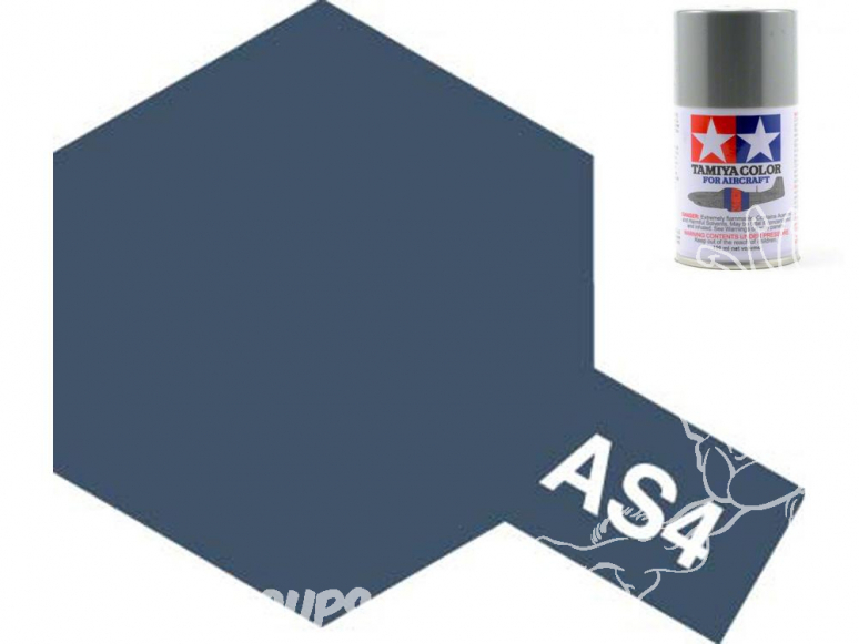 peinture maquette tamiya bombe as04 gris violet