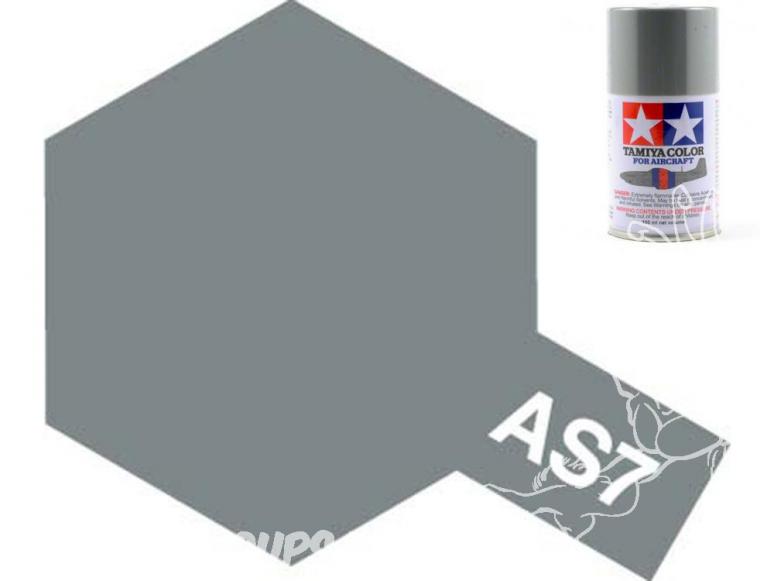 peinture maquette tamiya bombe as07 gris neutre