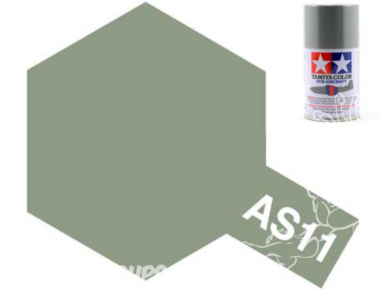 peinture maquette tamiya bombe as11 gris mer moyen