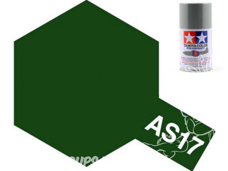 peinture maquette tamiya bombe as17 vert
