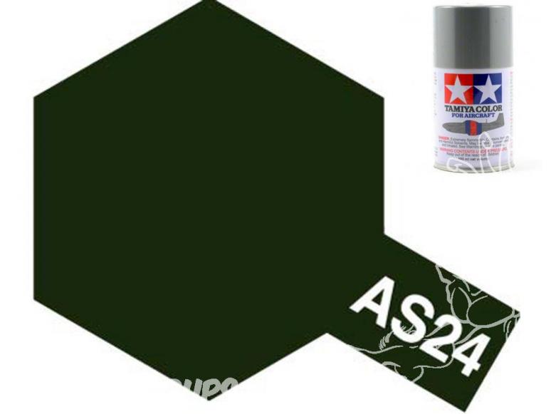 peinture maquette tamiya bombe as24 vert fonce