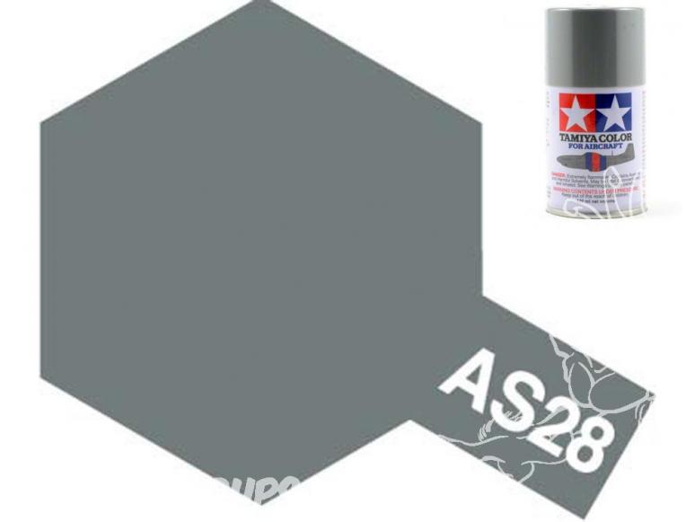peinture maquette tamiya bombe as28 gris medium