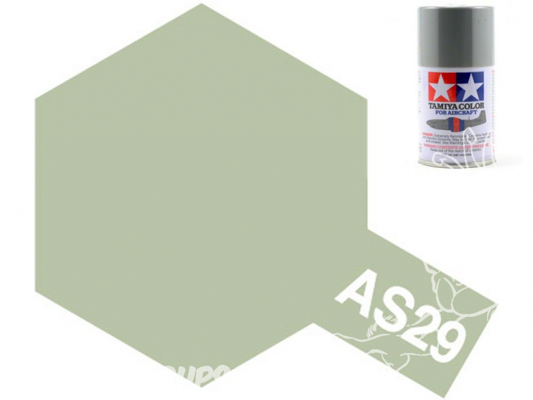 peinture maquette tamiya bombe as29 gris vert