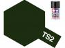 peinture maquette tamiya bombe ts02 vert foncé mat
