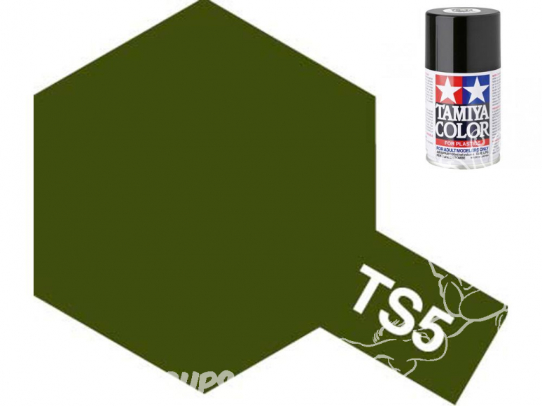 peinture maquette tamiya bombe ts05 olive drab