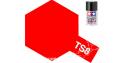 peinture maquette tamiya bombe ts08 rouge italien brillant