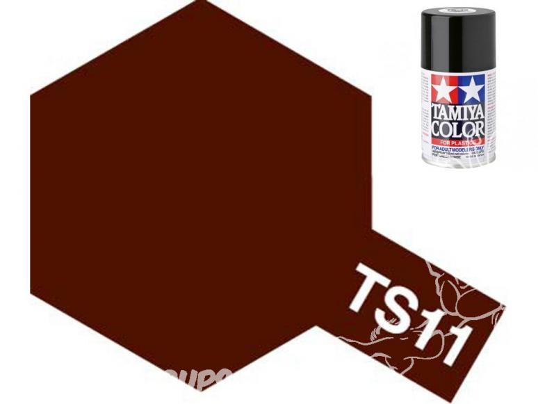 peinture maquette tamiya bombe ts11 marron