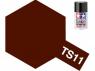 peinture maquette tamiya bombe ts11 marron brillant