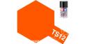 peinture maquette tamiya bombe ts12 orange brillant