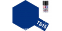 peinture maquette tamiya bombe ts15 bleu brillant