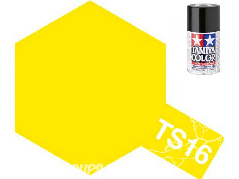 peinture maquette tamiya bombe ts16 jaune