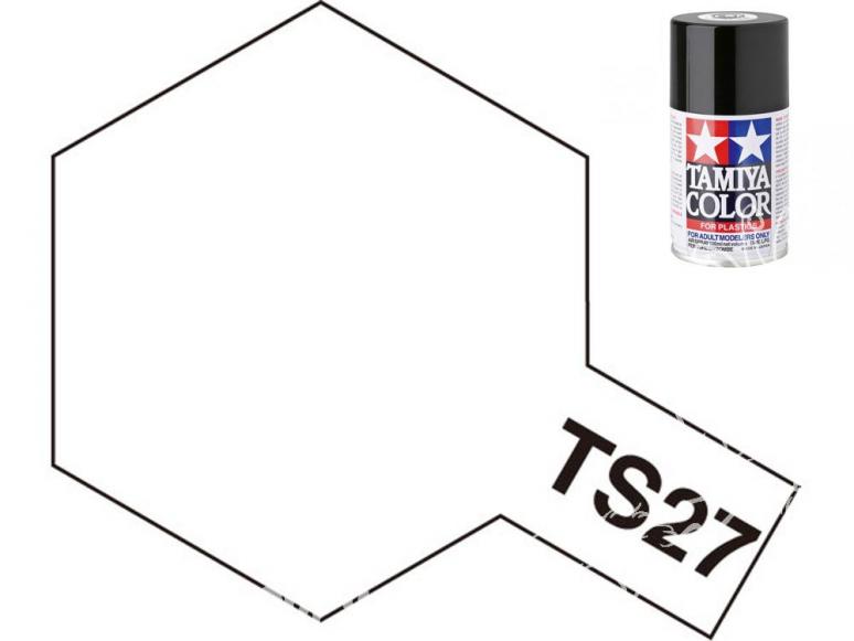 peinture maquette tamiya bombe ts27 blanc mat