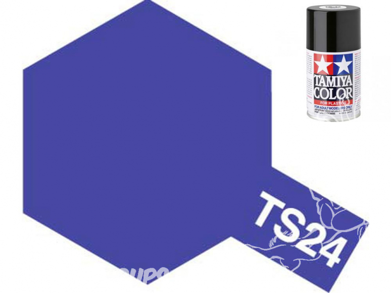 peinture maquette tamiya bombe ts24 purple
