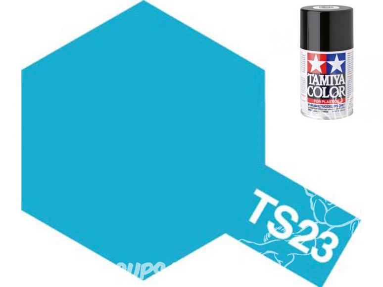 peinture maquette tamiya bombe ts23 bleu clair